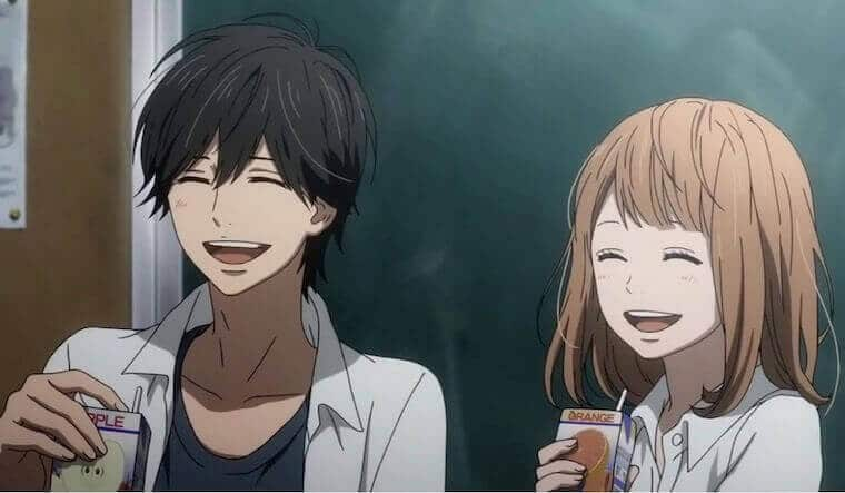 anime of a boy and a girl