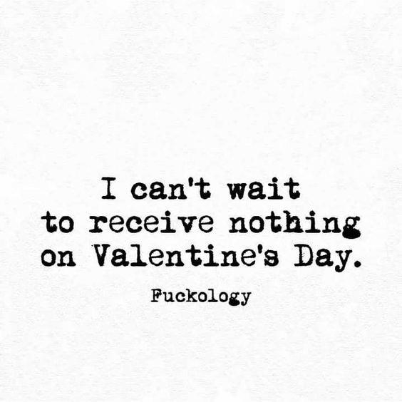 Sarcastic Valentine Day Quote Image 3