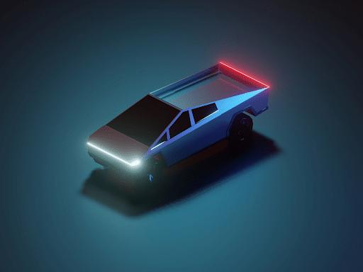 Tesla Car 3D Model