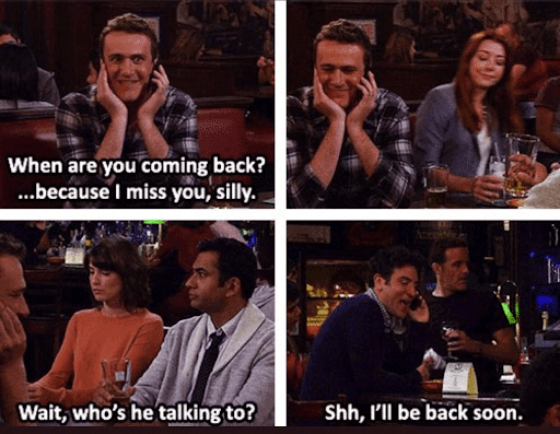 funny 4 panel HIMYM strip about friendship