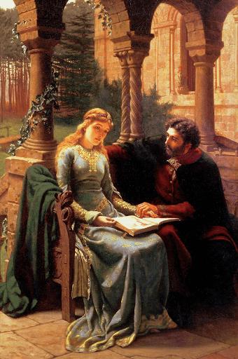 Abelard and his pupil Eloise illustration