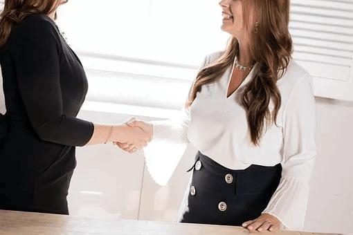 Interview Deal Business Handshake